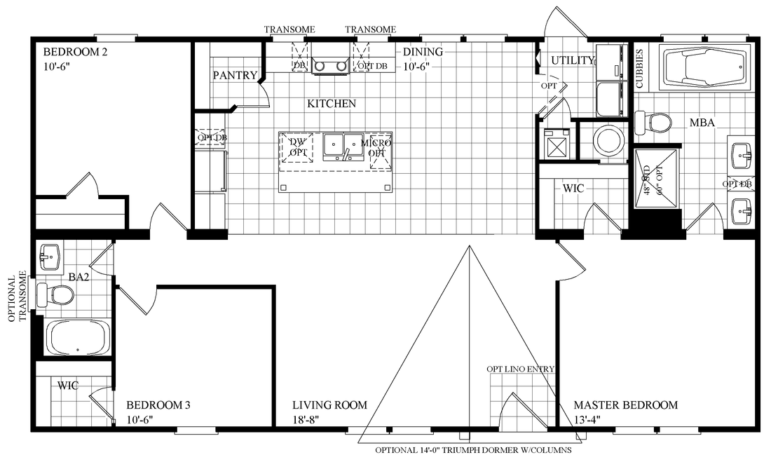 The THE LOMBARDI Floor Plan