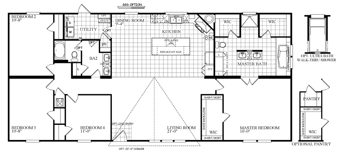 The THE DRAKE Floor Plan