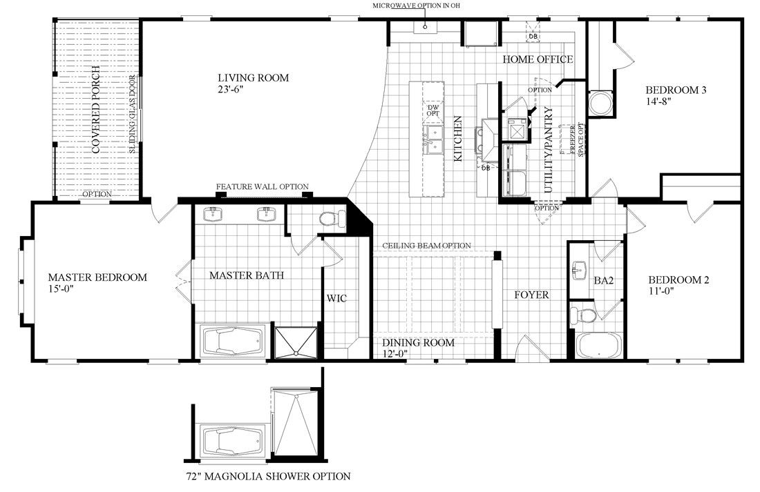 Floor plans for southern energy homes for Southern energy homes floor plans